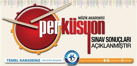 2017-2018 Perküsyon Orkestrası Sınav Sonuç Listesi