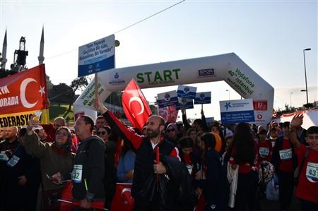 KÜÇÜKÇEKMECE BELEDİYESİ, 40'INCI İSTANBUL MARATONU'NDA