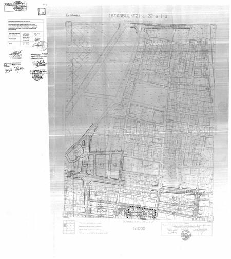 Küçükçekmece İlçesi, Halkalı 4 ada, 291, 292 ve 293 sayılı parsellere ilişkin hazırlanan ''UİP-5229,18'' Plan İşlem Numaralı 1/1000  ölçekli Uygulama İmar Planı