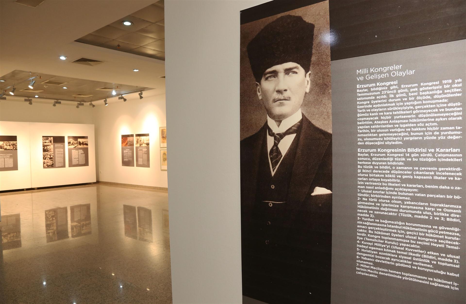 ATATÜRK'ÜN BİLİNMEYEN FOTOĞRAFLARI  SKSM' DE