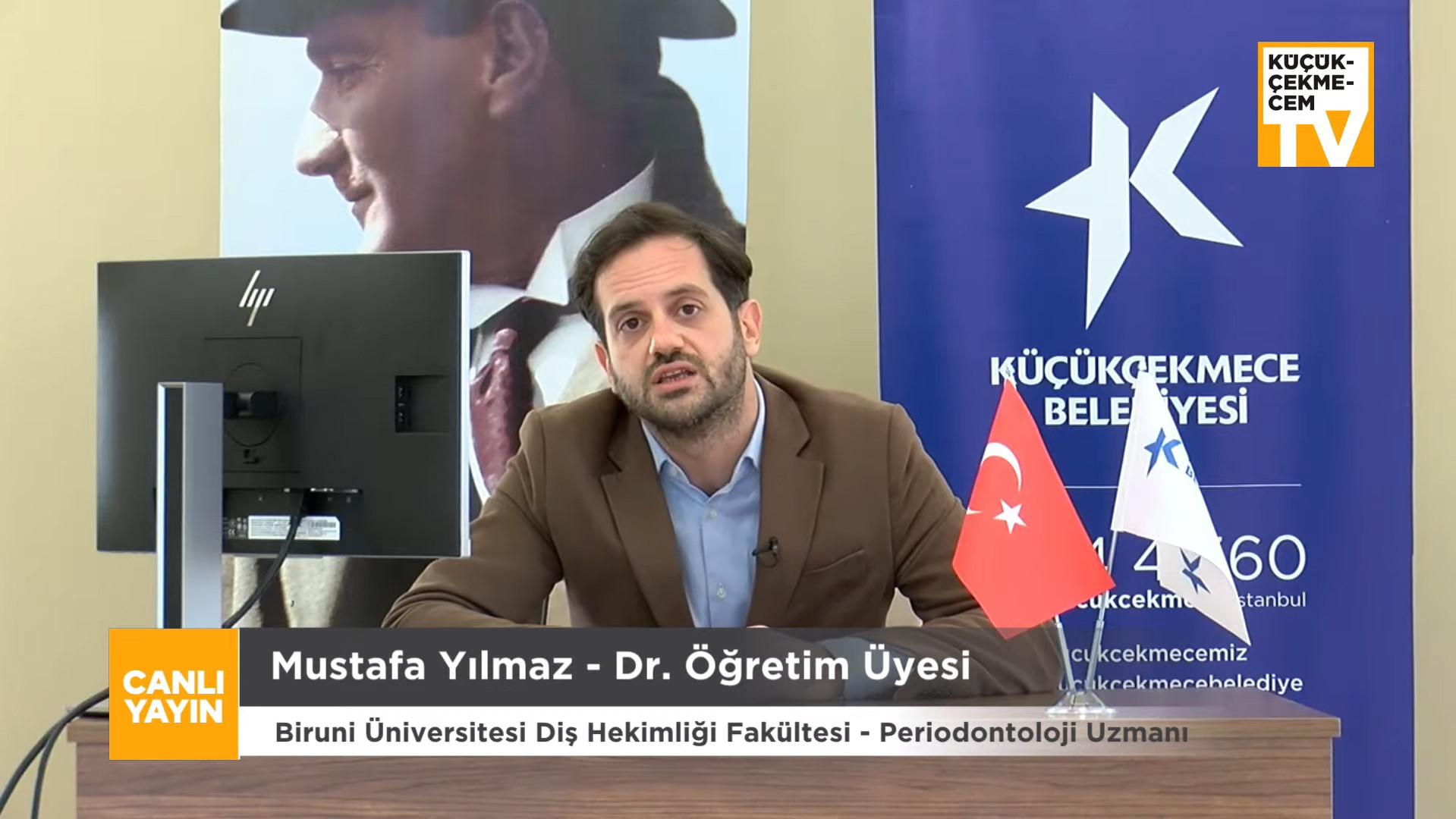 UZMAN DR. MUSTAFA YILMAZ, PANDEMİ SÜRECİNDE AĞIZ VE DİŞ BAKIMINI ANLATTI