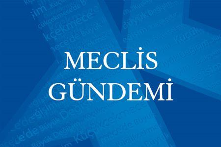 MECLİS GÜNDEMİ